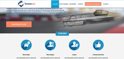Ensas Car webSite
